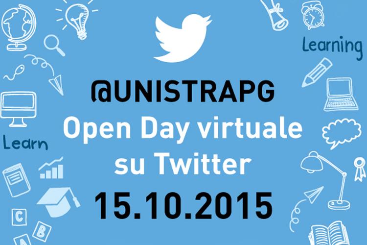 L'Open Day della Stranieri su Twitter