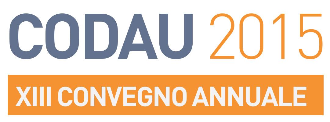 Tredicesimo convegno annuale CoDAU 2015