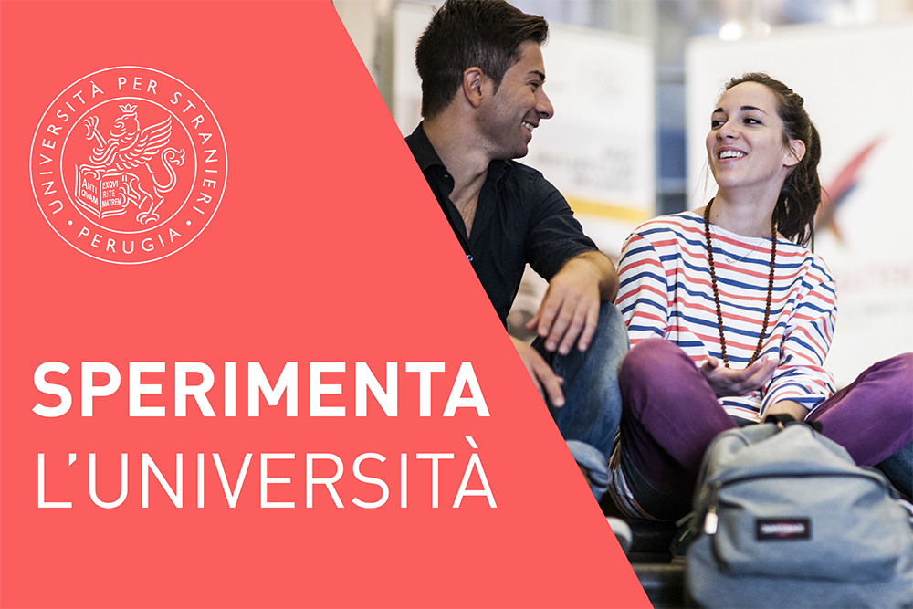 SPERIMENT L'UNIVERSITÀ