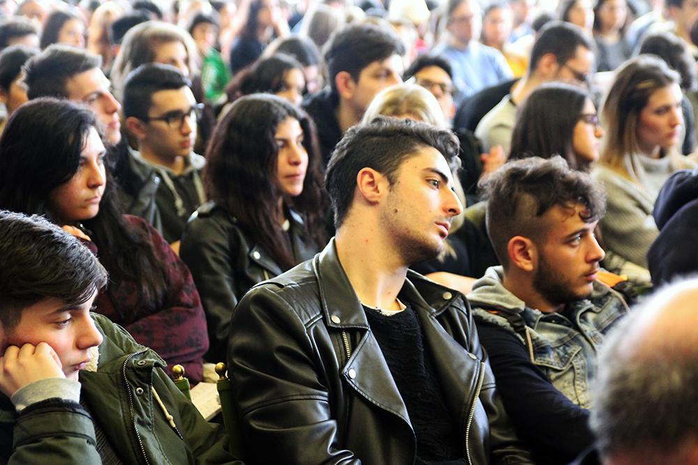 Foto del pubblico scattata durante l'Open Day 2017