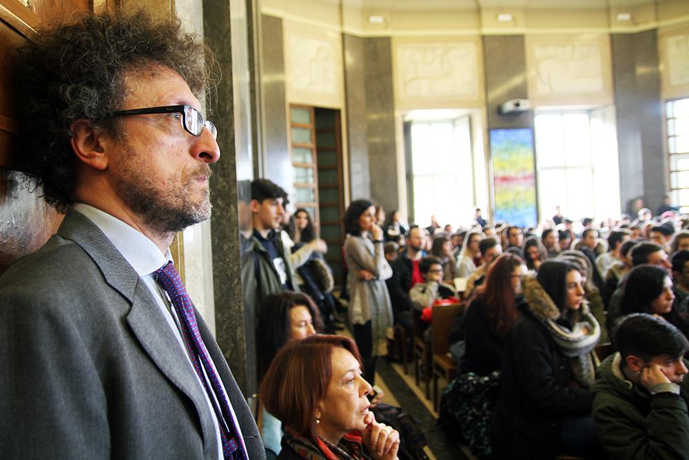 Il prof. Cingari