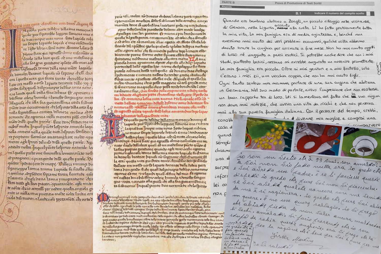 testi stampati e manoscritti