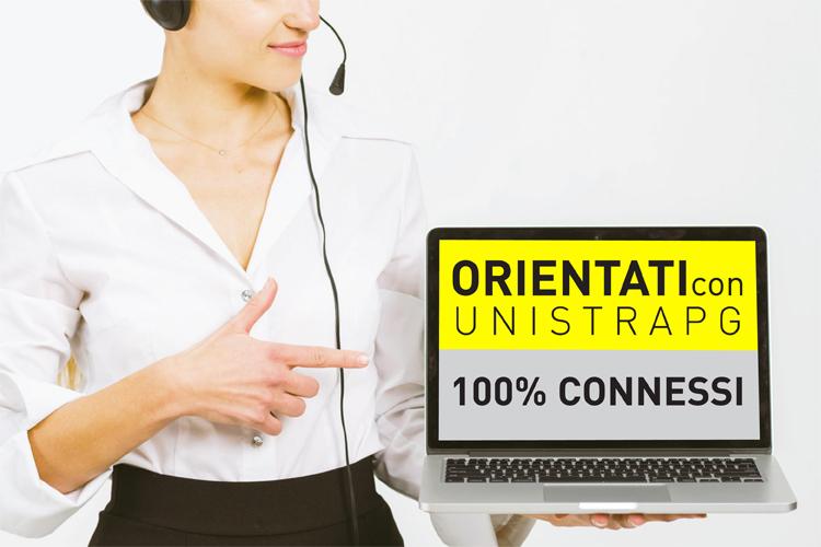 Orientati con UniStraPg - 100% connessi