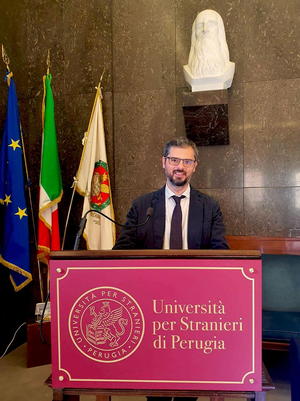 Immagine del Rettore, prof. Valerio De Cesaris