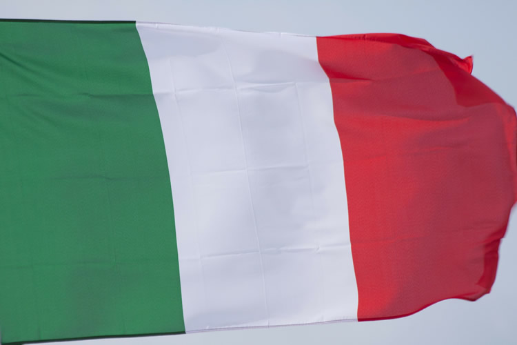 bandiera dell'Italia
