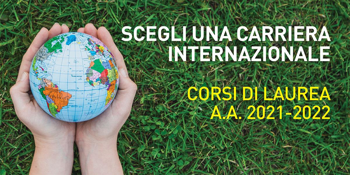Scegli una carriera internazionale!
