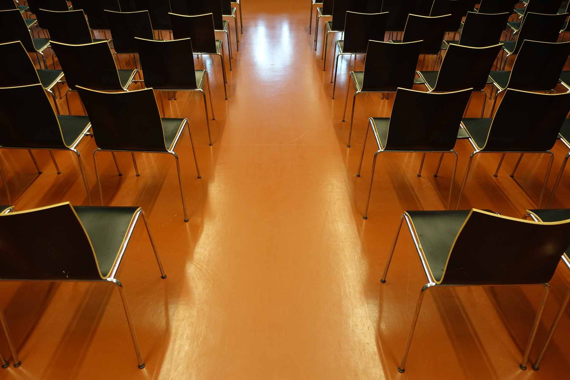 foto di un auditorium