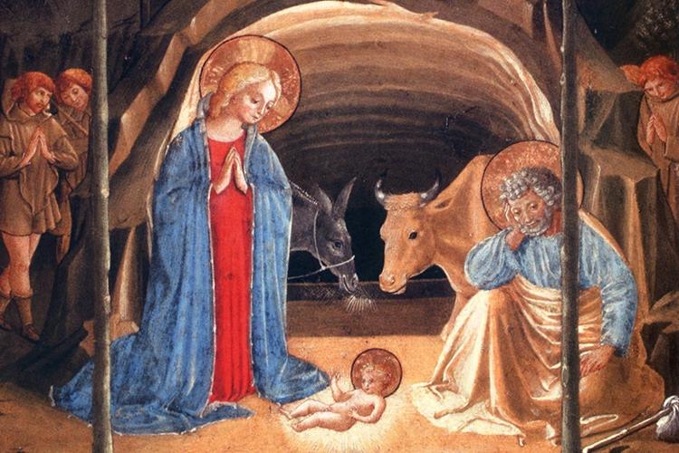 Dettaglio della locandina: Natività di Benozzo Gozzoli