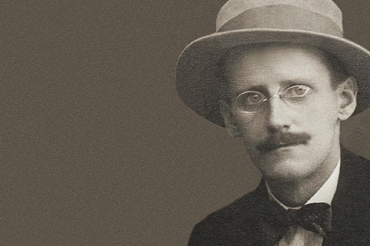 Dettaglio della locandina: immagine di James Joyce