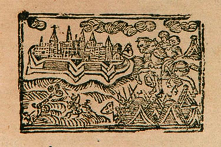 Dettaglio della locandina: immagine tratta dalla copertina del libro