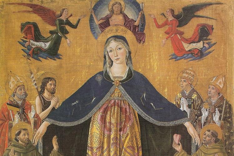 La Madonna della Misericordia nella pittura umbra del Quattrocento