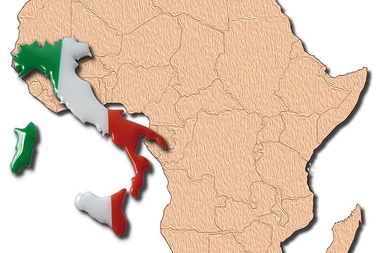 Dettaglio della locandina: Africa e Italia