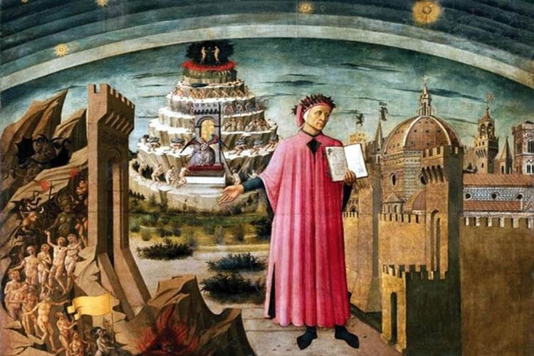 Dante nella Commedia