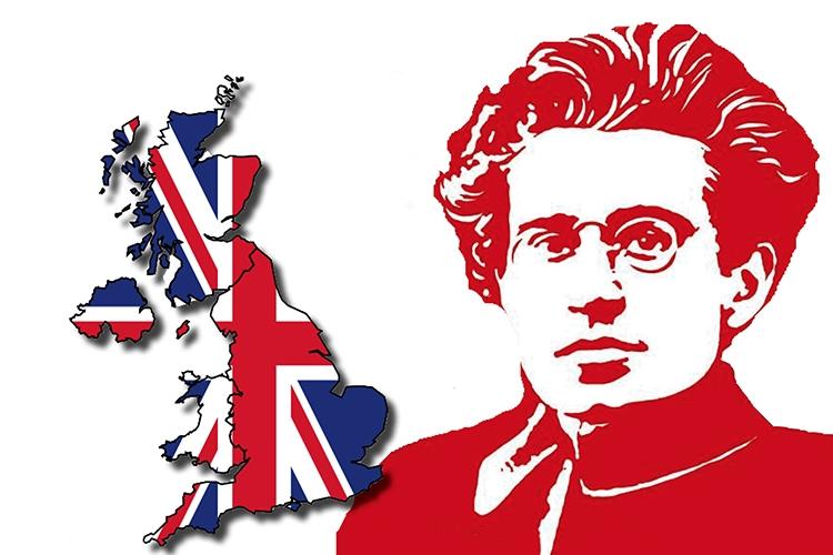 Dettaglio della locandina: Gramsci e la Gran Bretagna