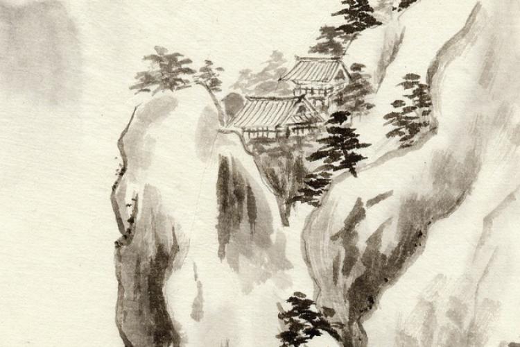 Dettaglio della locandina: particolare di opera cinese
