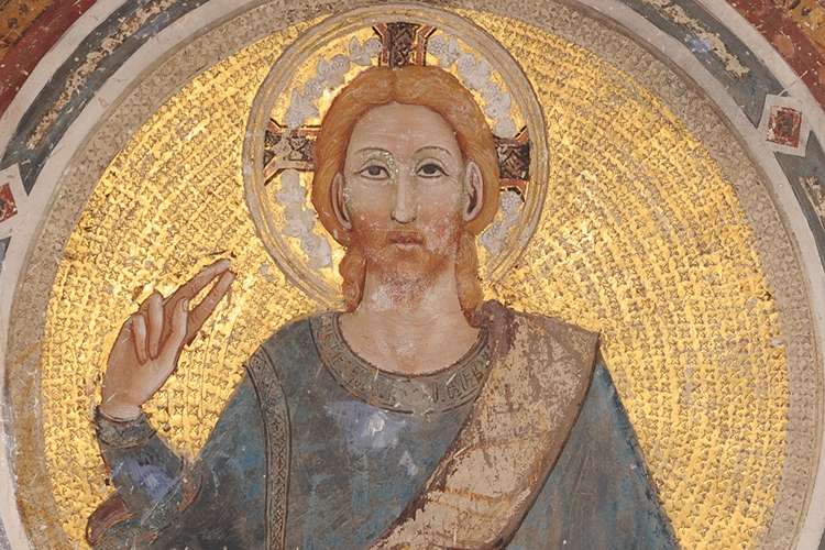 particolare della chiesa di S. Francesco a Gubbio