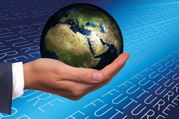 Dettaglio della locandina:il mondo in una mano