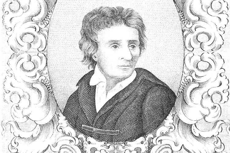 Dettaglio della copertina del libro: ritratto di Pindemonte