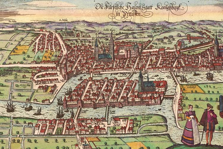 mappa antica di città