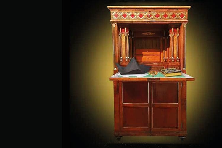 particolare della copertina del libro: il secrétaire