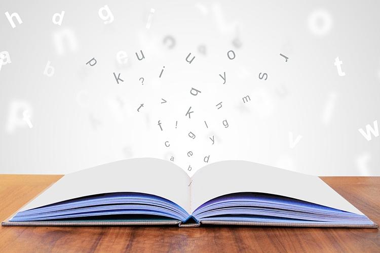 Dettaglio della locandina: libro aperto