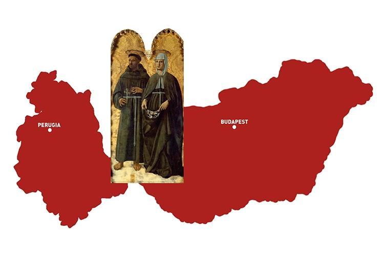 Dettaglio della locandina: Umbria e Ungheria