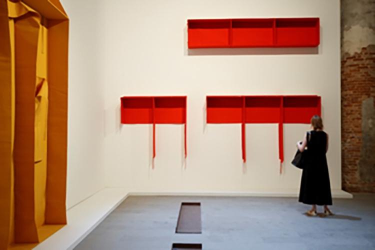 opere esposte alla Biennale