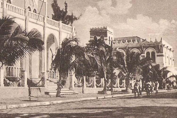 Immagine d'epoca di Mogadiscio