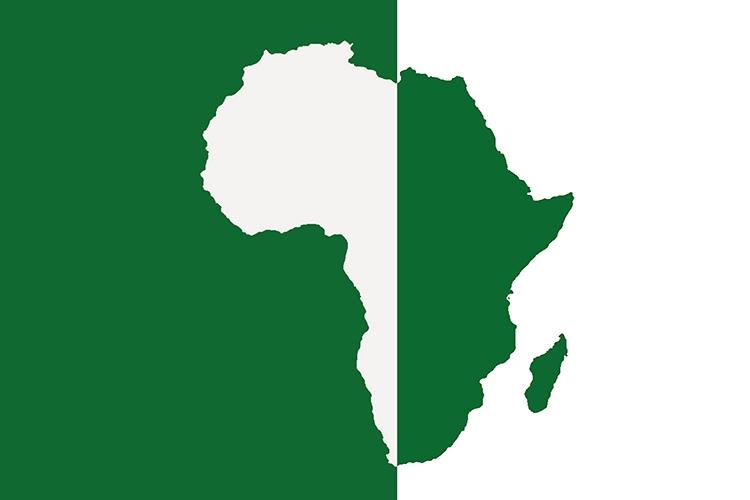 rappresentazione grafica dell'Africa