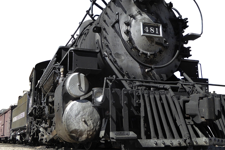 particolare di un treno