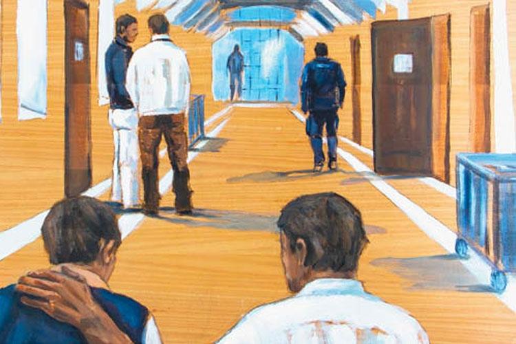 raffigurazione grafica dell'interno di un carcere