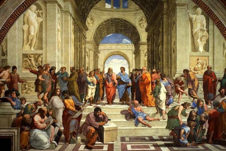 """""""La scuola di Atene"""" di Raffaello"""
