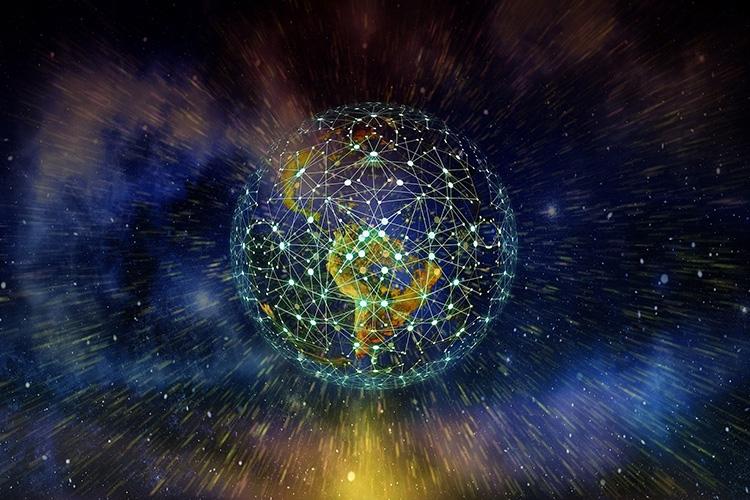 il pianeta terra interconnesso
