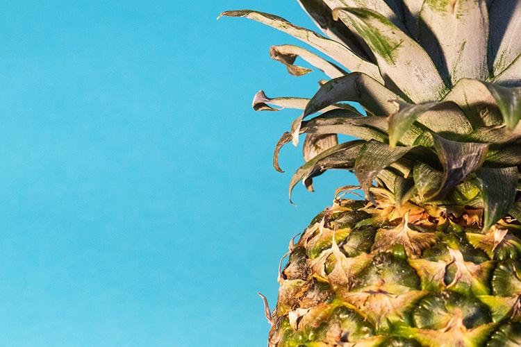 particolare di un ananas