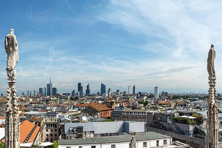 il centro di Milano