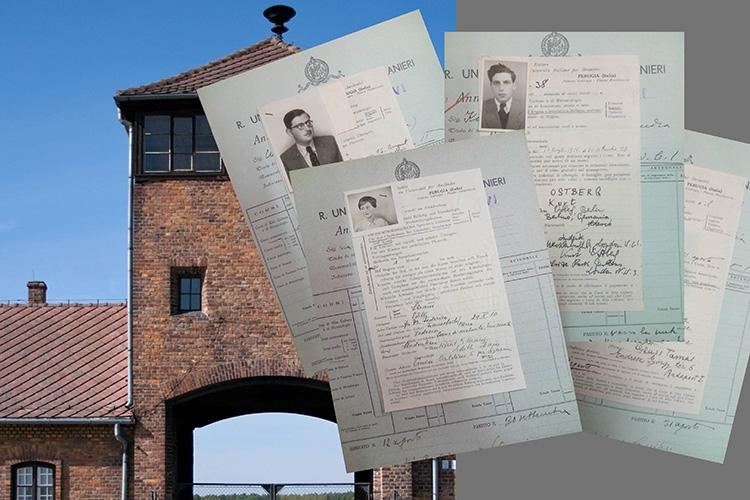 documenti di studenti ebrei