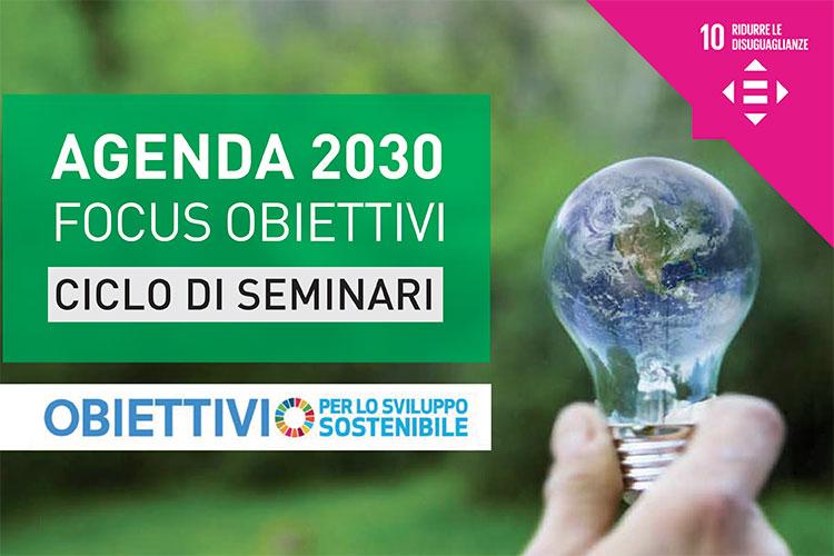 Agenda 2020 - obiettivi per lo sviluppo sostenibile