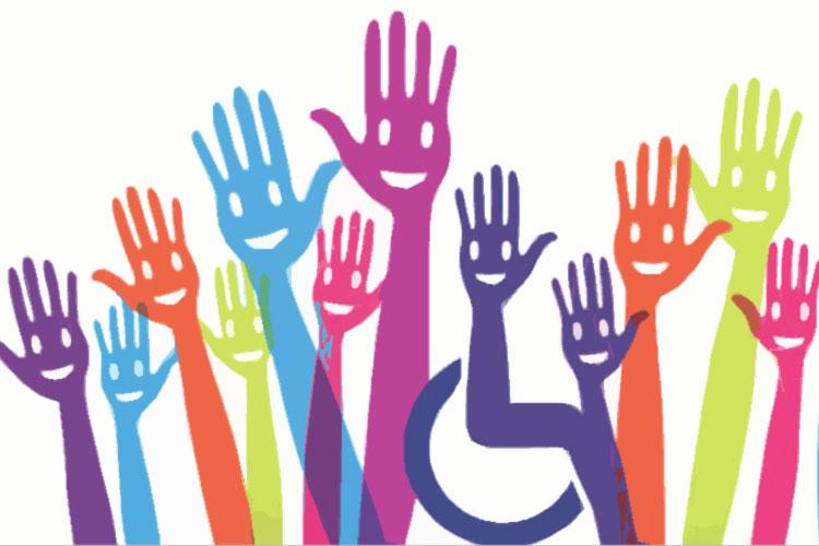 mani alzate di tanti colori