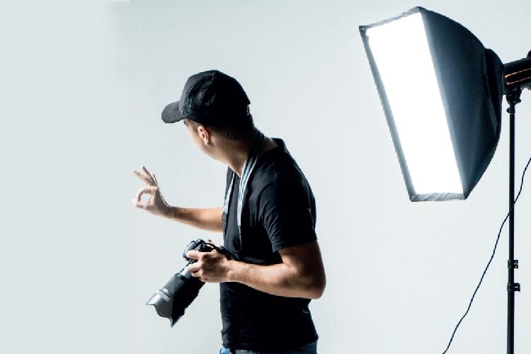 fotografo in studio