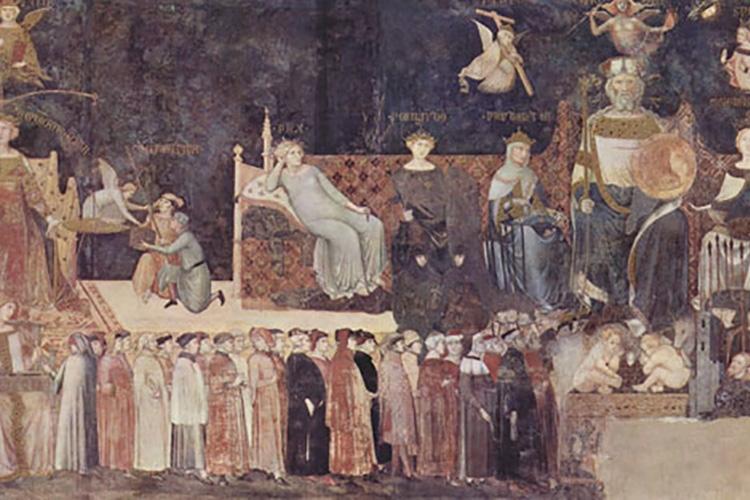 particolare di dipinto tratto dalla locandina