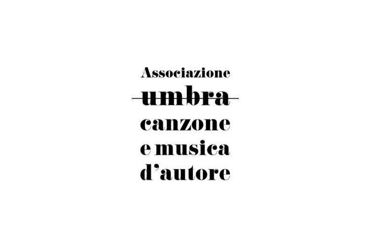 logo associazione umbra canzone e musica d'autore
