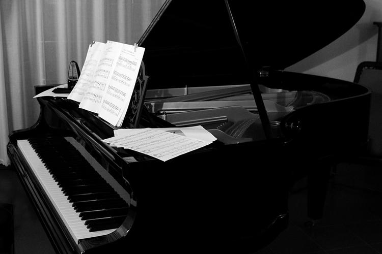 Immagine di pianoforte a coda