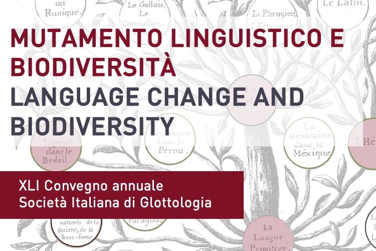 Mutamento linguistico e biodiversità - Language change and biodiversity