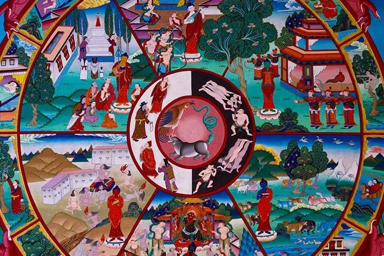 Rappresentazione iconografica del tempo in oriente