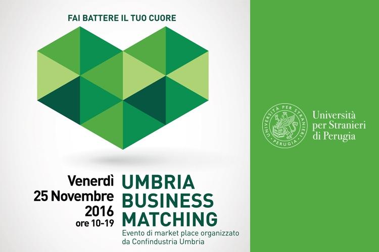 Logo della manifestazione Umbria Business Matching