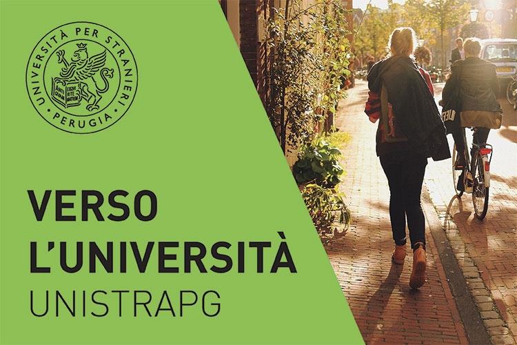 banner dell'iniziativa - Verso l'Università