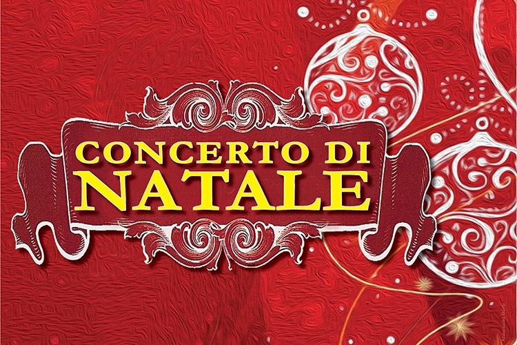 """Scritta """"Concerto di Natale"""""""