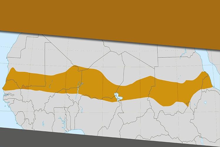 carta geografica del Sahel