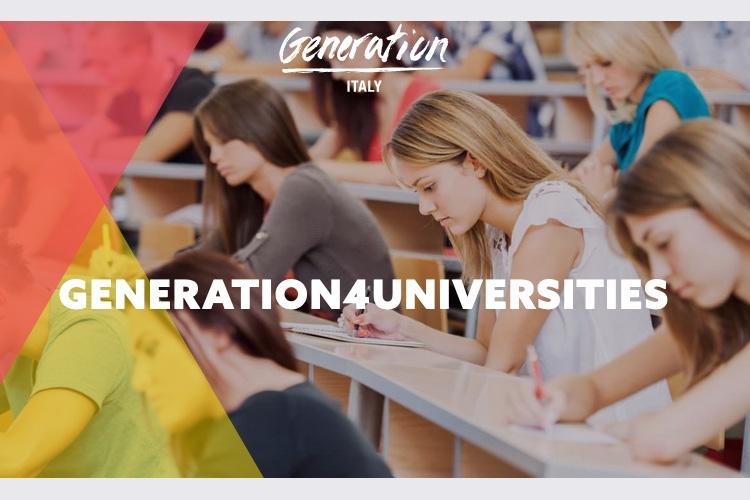 GENERATION4UNIVERSITIES