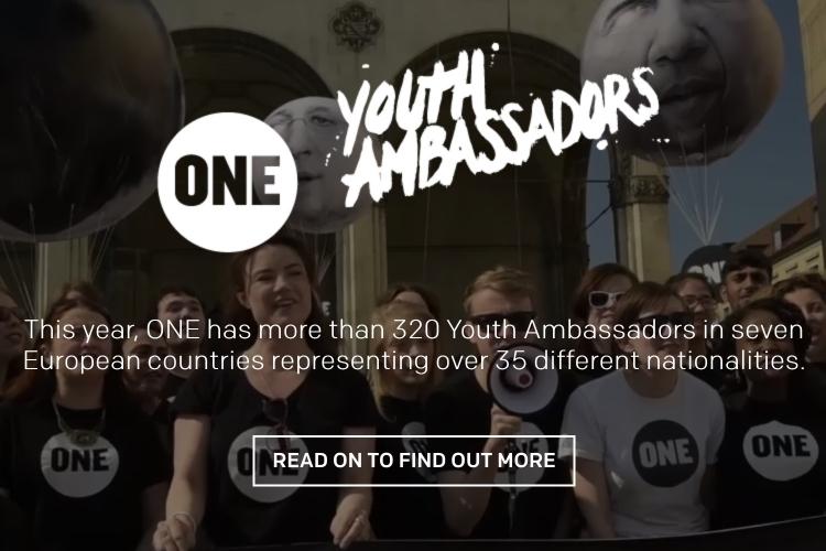 ONE youth ambassadors